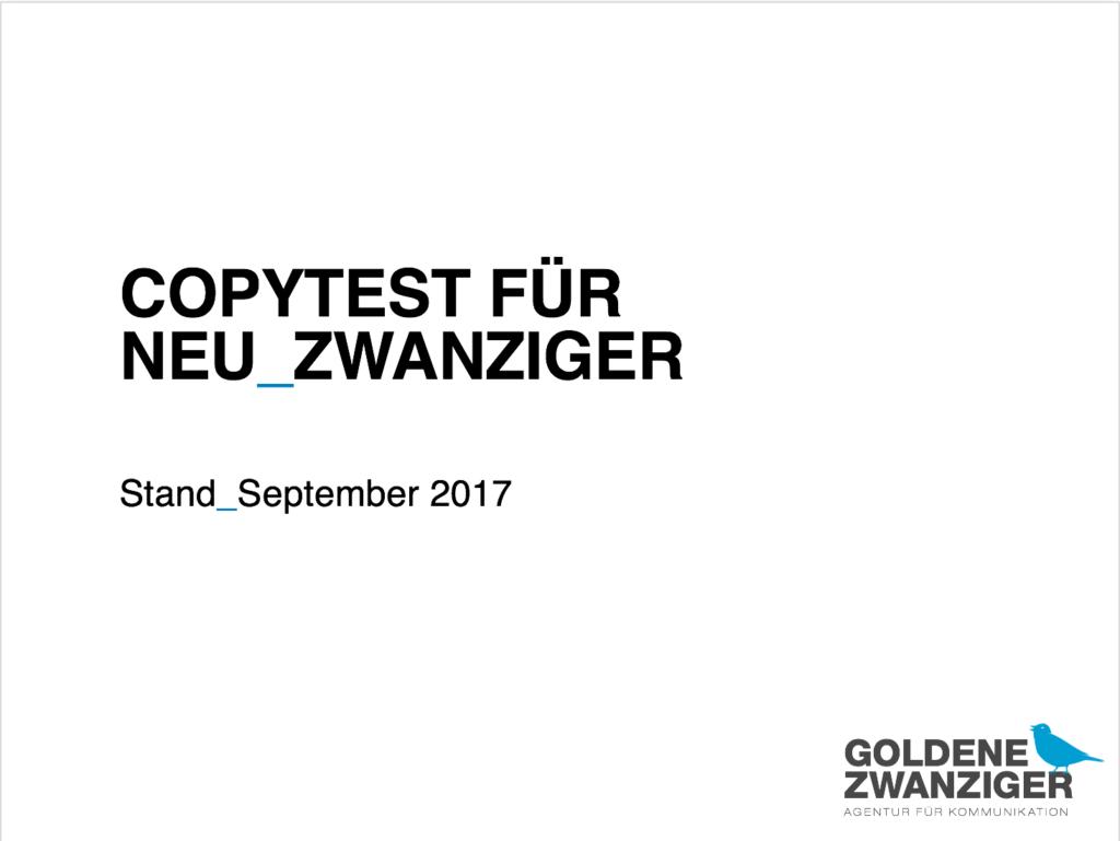 Titelbild des Goldenen Zwanziger Titelbilds.